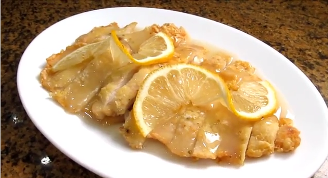Pollo al lim n estilo chino electrodom sticos brandt - Salsa de pollo al limon ...