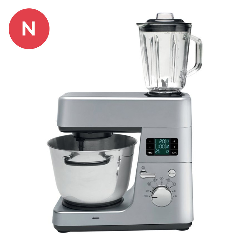 Robot de cocina kmc1254bs brandt - Robot de cocina cocichef ...