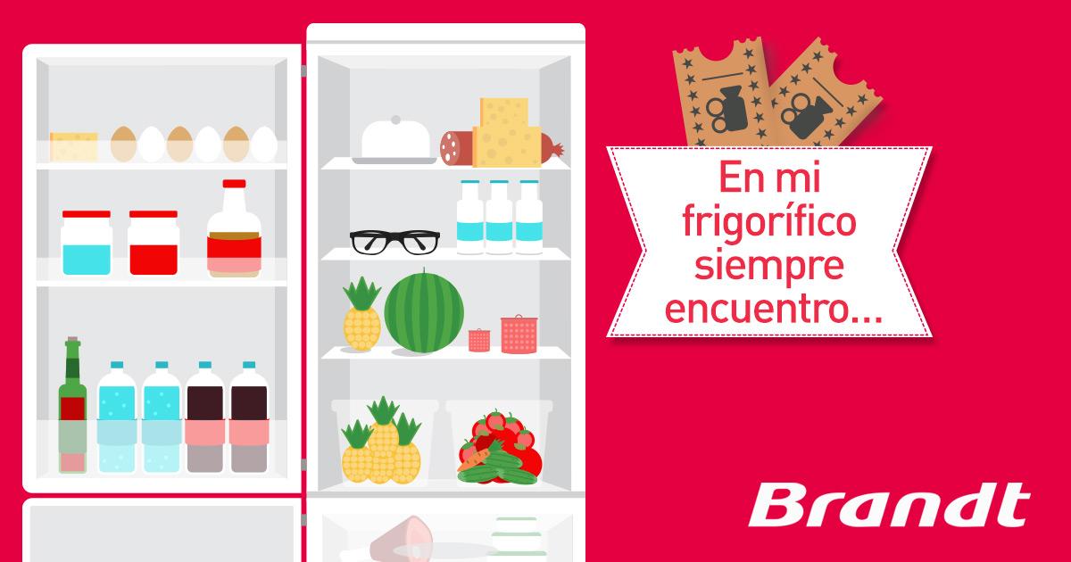 Promoción: En mi frigorífico siempre encuentro...