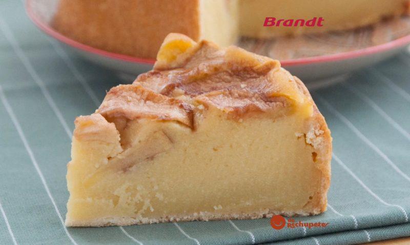 Receta Exprés Brandt: tarta de manzana