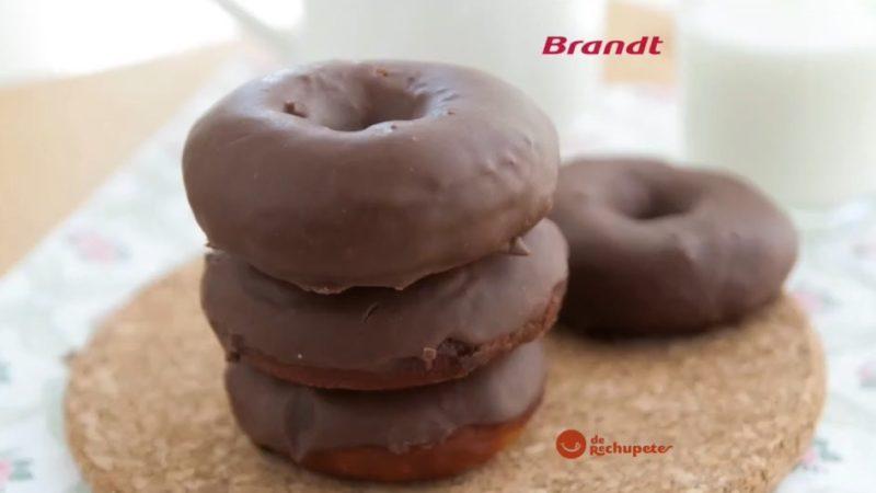 Receta Exprés Brandt: Donuts de chocolate