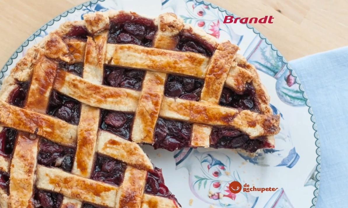 Receta Exprés Brandt: Tarta de cerezas