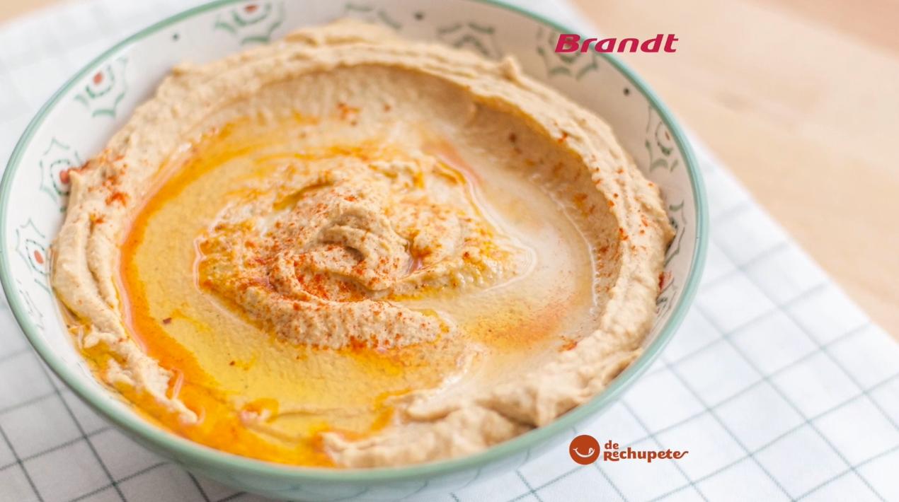 Receta Exprés Brandt: Hummus