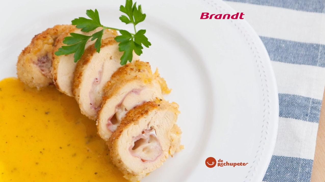 Receta Exprés Brandt: Cordón Bleu de pollo