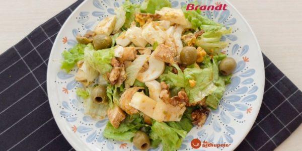 Receta Exprés Brandt: ensalada de pollo