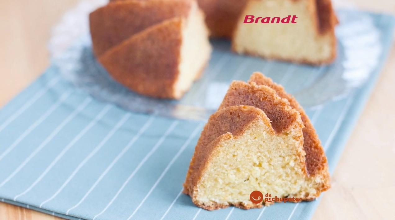 Receta Exprés Brandt: Bizcocho de queso