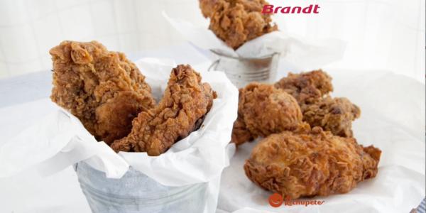Receta Exprés Brandt: Pollo frito estilo KFC