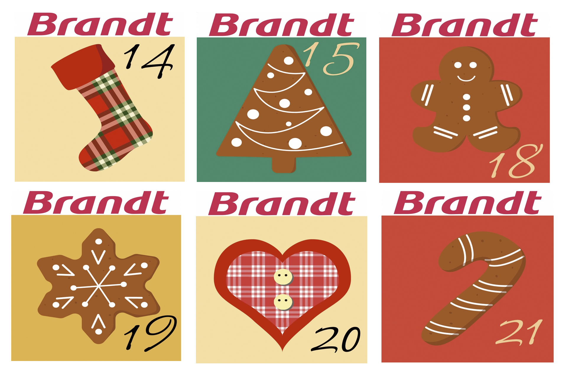 Calendario Adviento Brandt 2017