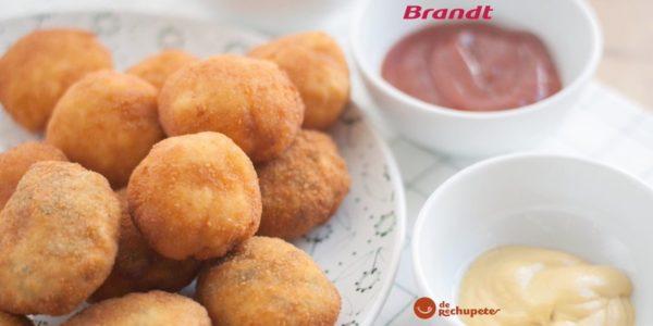 Receta Exprés Brandt: Nuggets de pollo y espinacas