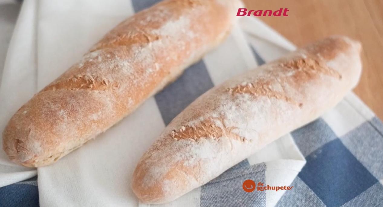 Receta Exprés Brandt: Baguettes francesas