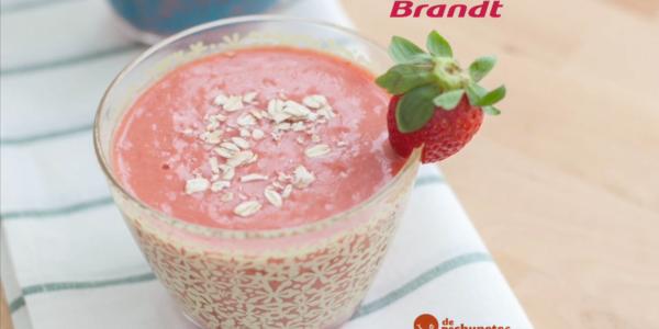 Receta Exprés Brandt: Smoothie de fresa