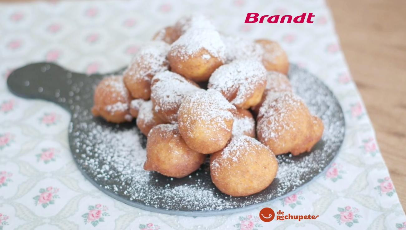 Receta Exprés Brandt: Buñuelos de calabaza