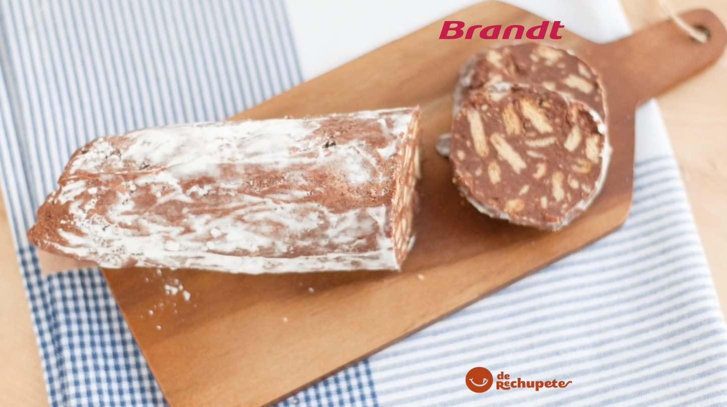 Receta Exprés Brandt: Salchichón de chocolate