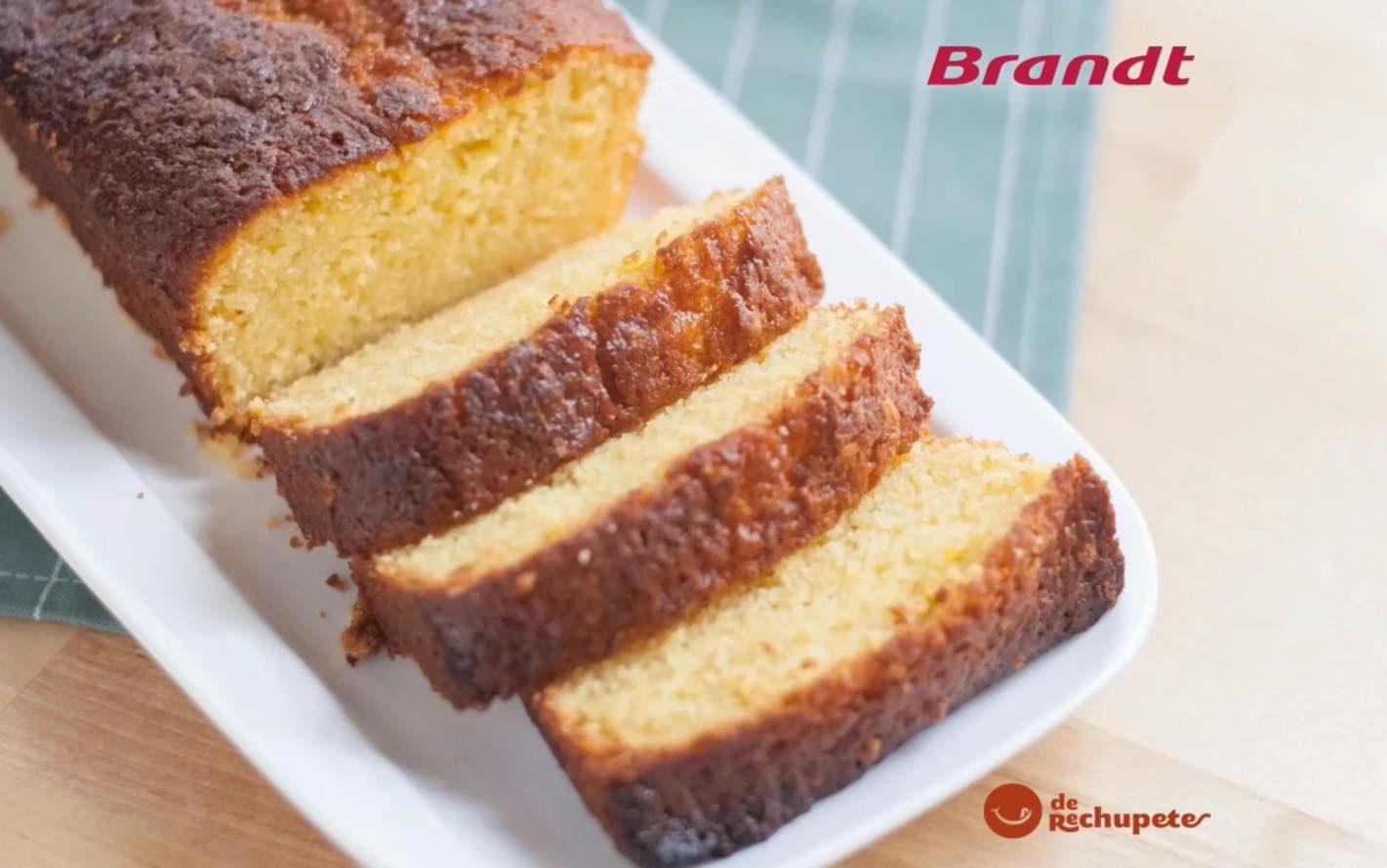Receta Exprés Brandt: Bizcocho de naranja