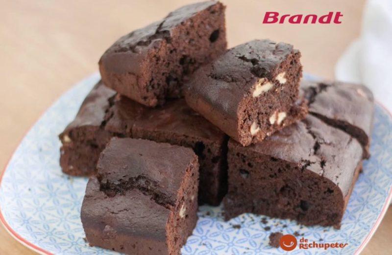 Receta Exprés Brandt: Brownie