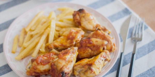 Receta Exprés Brandt: Alitas de pollo con salsa barbacoa