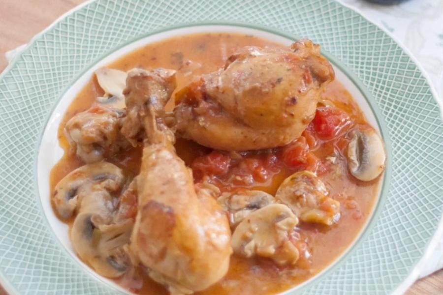Receta Exprés Brandt: Pollo a la Marengo