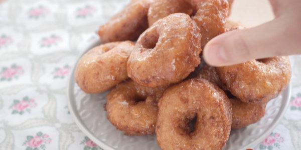 Receta Exprés Brandt: Rosquillas fritas