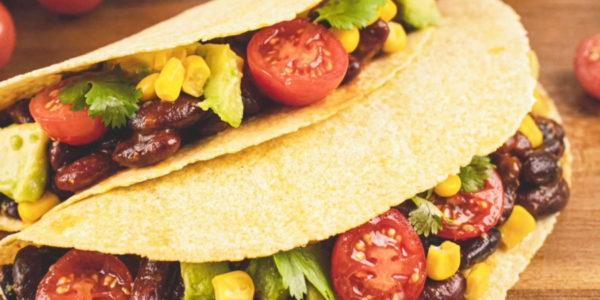 Receta Exprés Brandt: Tacos veganos