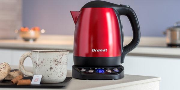Hervidor de agua Brandt rojo