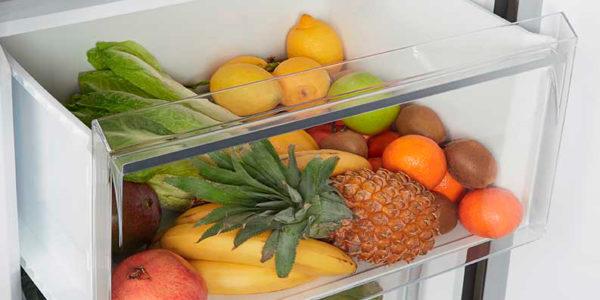 Cajón de fruta del frigorífico